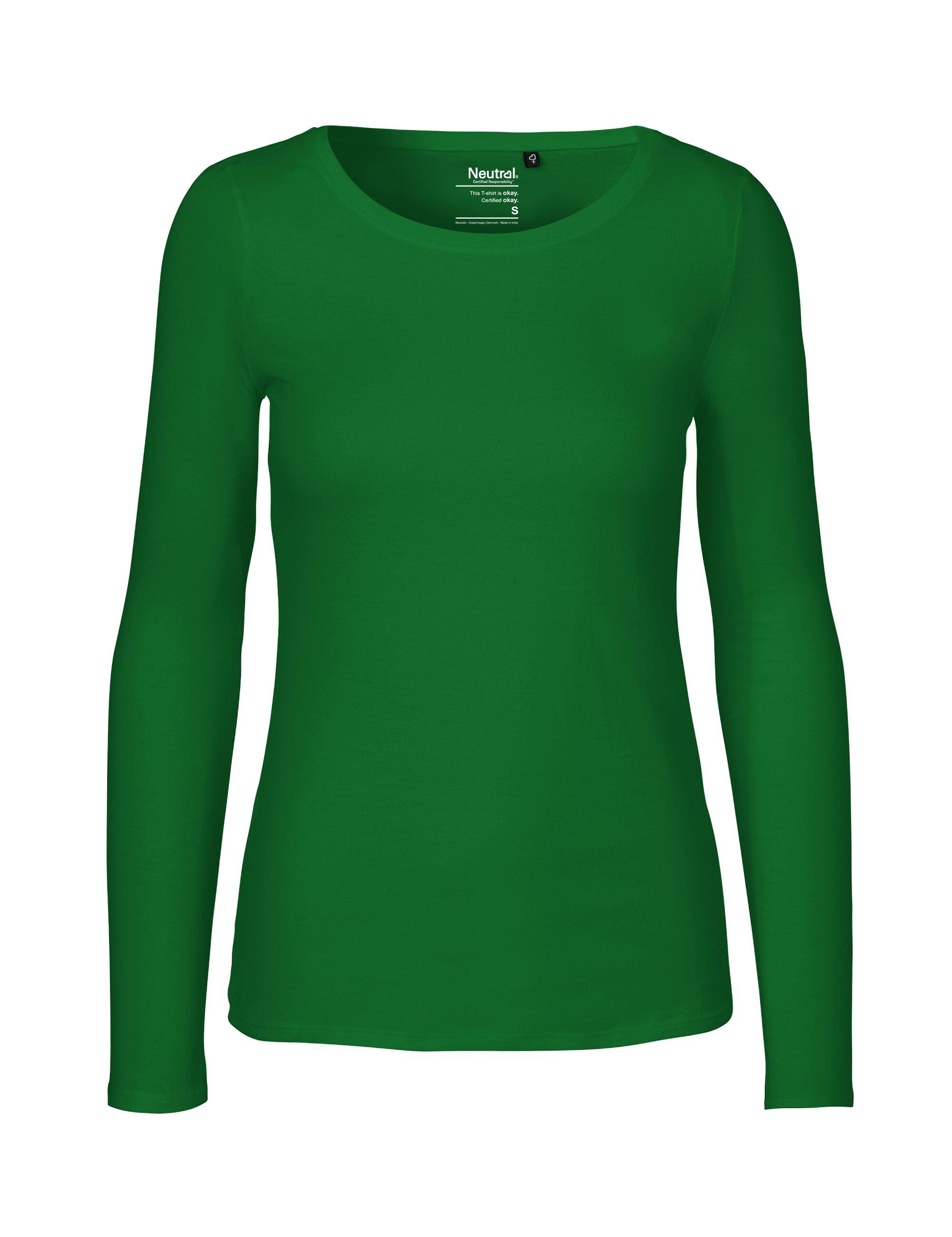 9aac72a677efe7 Bio Langarm T-Shirt für Damen von Neutral